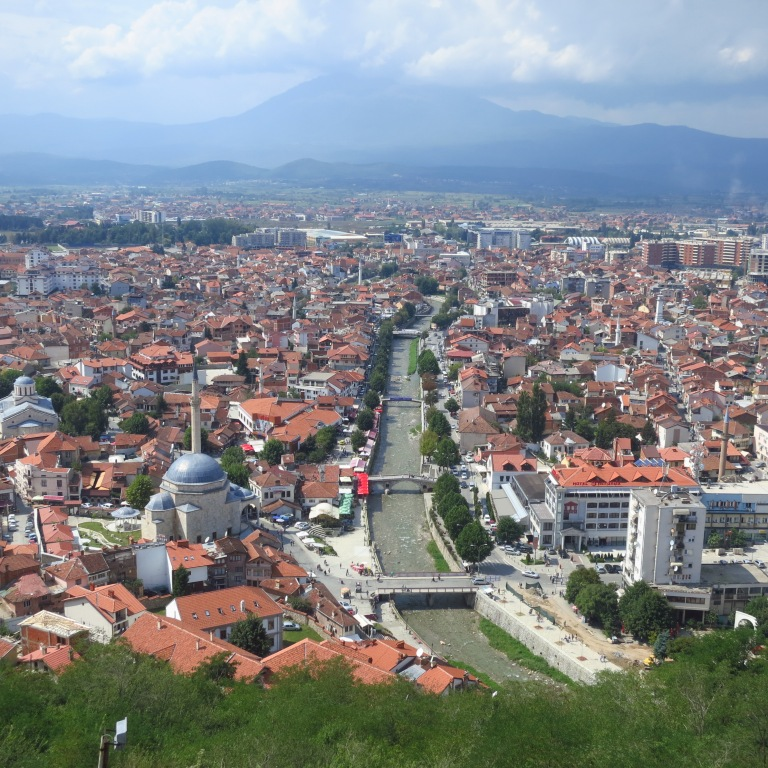 Prizren - a lovely place in the southern Kosovo One of the few places that weren't destroyed that much during the wars, but still has a quite large KFOR-presence