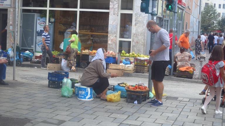 Albanian style shopping