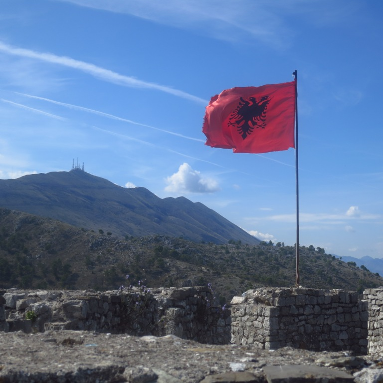 Albania: Famous for its cool flag Here in Shkodër in the north