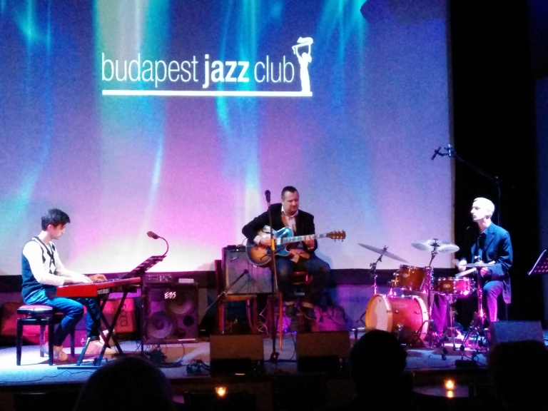 Szerda, 9th of April  Szalay Gábor organ trio @ Budapest Jazz Club Easy listening Jazz, played by some great musicians