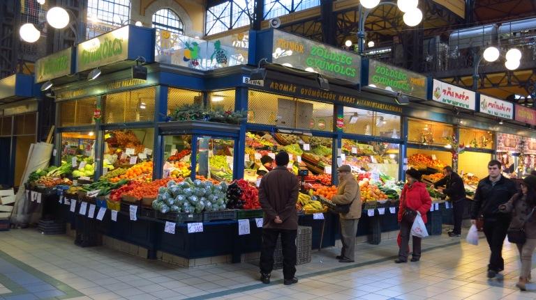 The fruity market hall