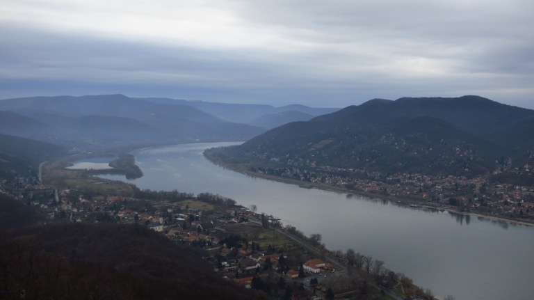 The mighty Danube bend