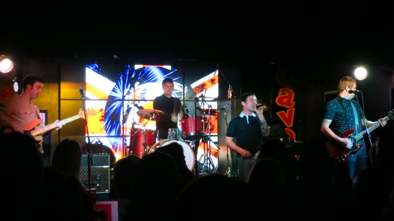 a mod-band in the legendary cavern-club