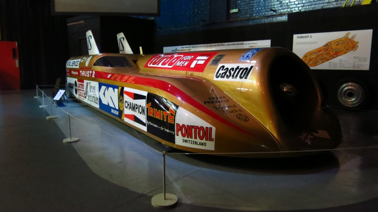 Thrust2 - The fastest land-vehicle from 1983 until 1997 (original)