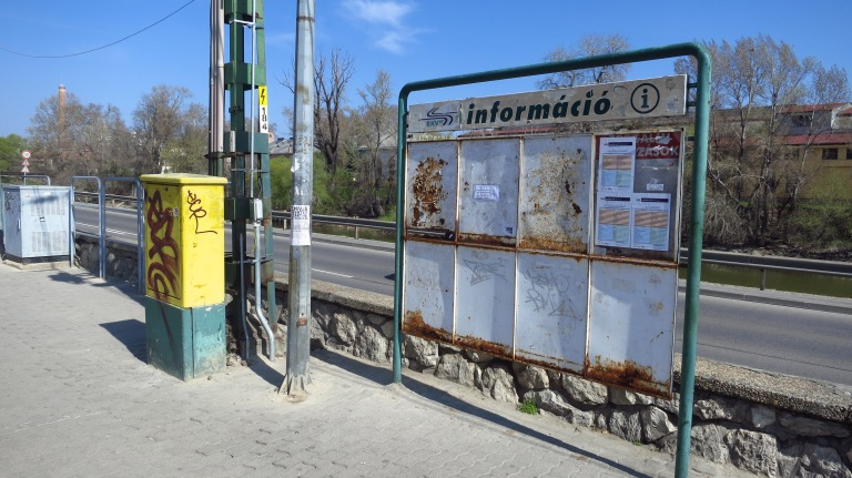 When coming in by train, you'll find all the informations you need