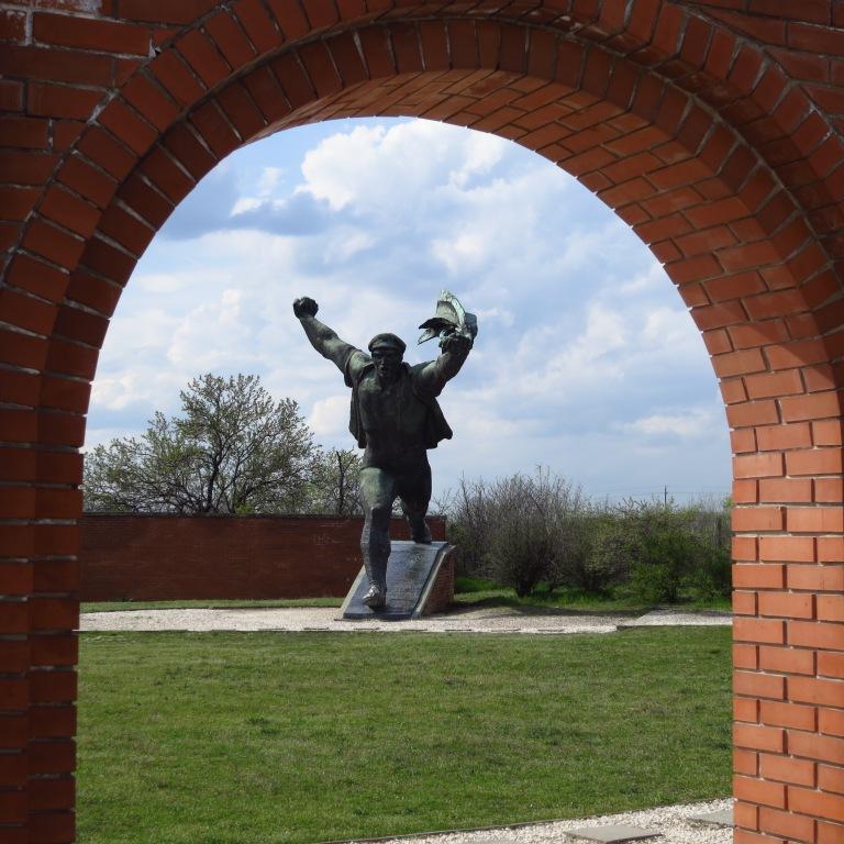 The most impressive statue: the republic of council memorial