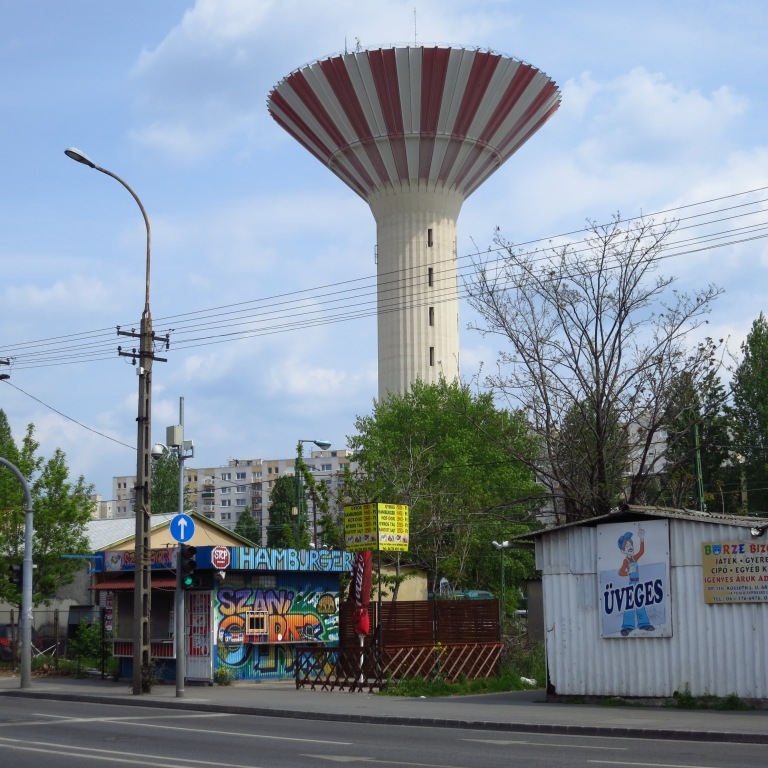 The Csepel watertower is quite necessary on this flat region