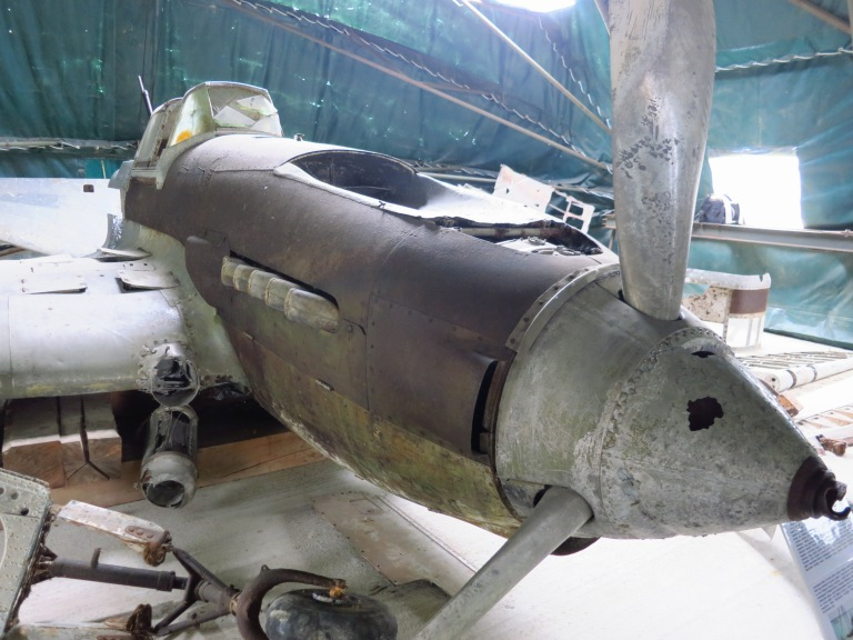 A during WW2 shot down russian aircraft which remained in the Balaton for over 50 years