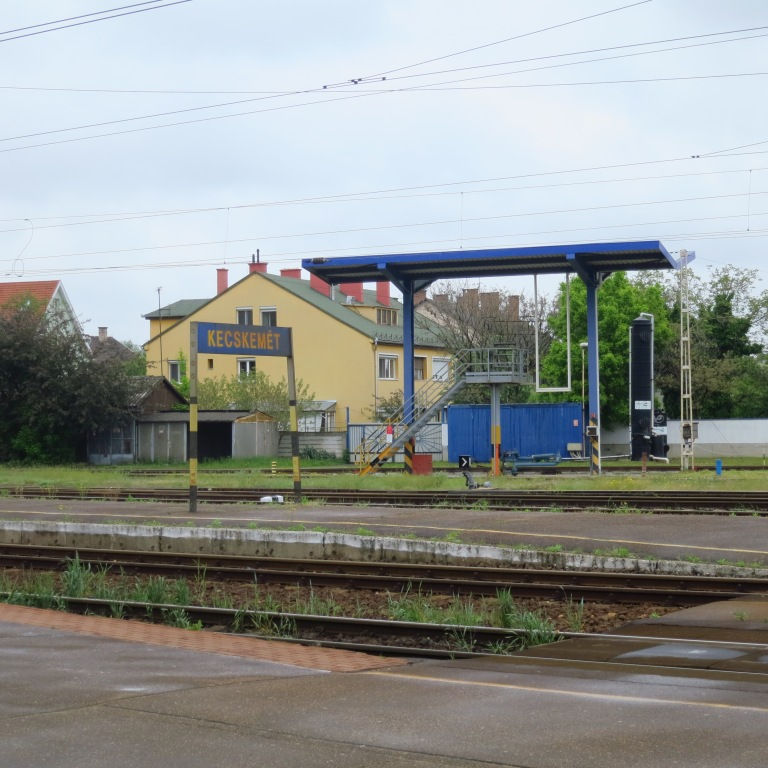 The last station of our trip, where we went back home to Budapest