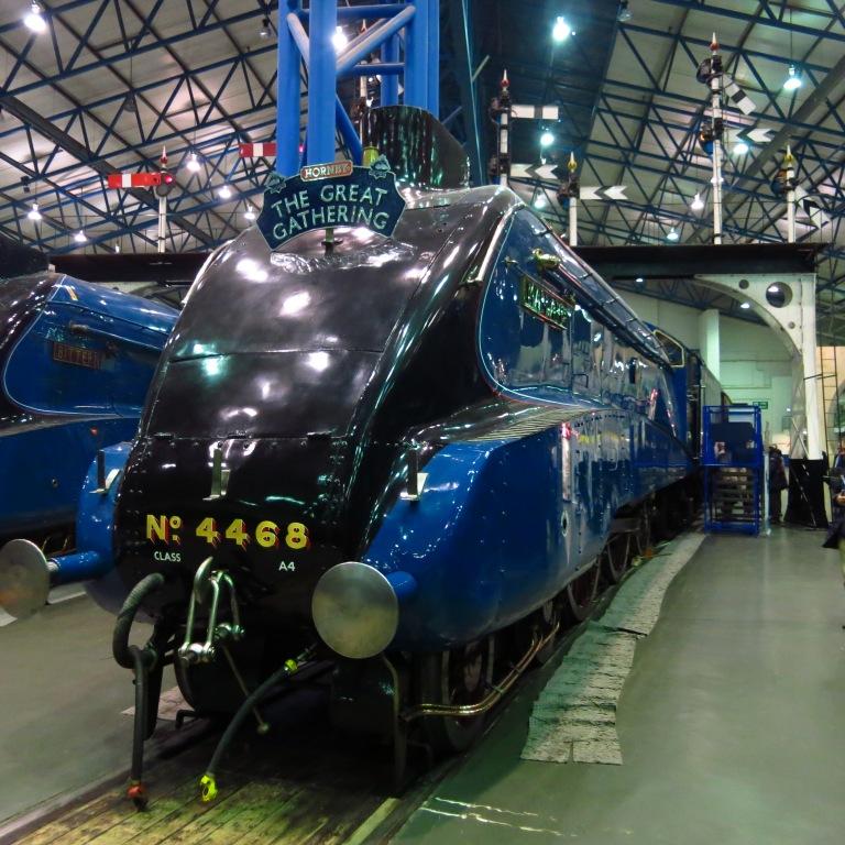 The Mallard (1938) - World speed record holder for steam locomotives (202 km/h)