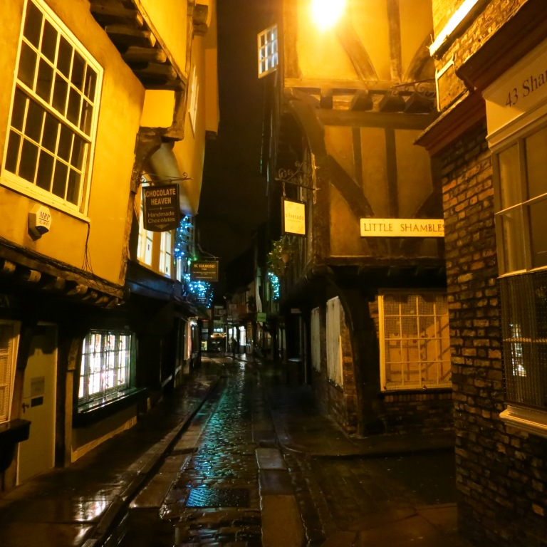 The picturesque town of York