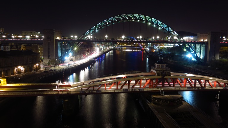 The only nice view I found from Newcastle