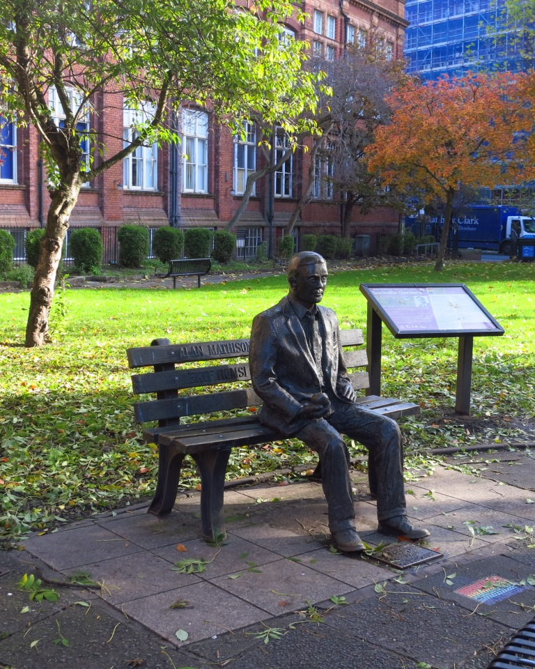 Alan Turing - he gave us a world full of computers and less nazis