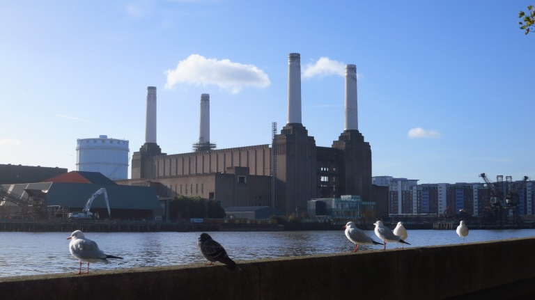 The mighty Battersea Power Station