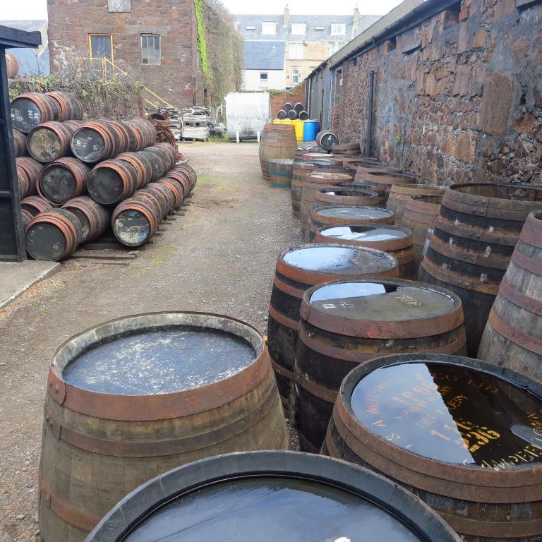 The distillery of Springbank