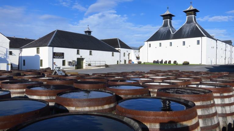 The distillery of Ardbeg