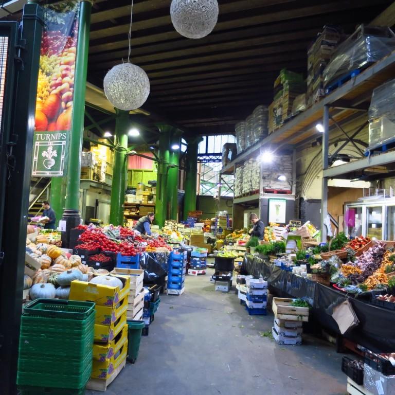 Market at Waterloo in London